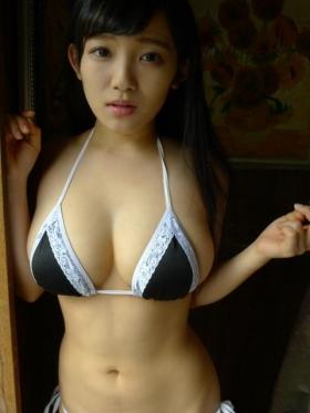 Jun Amagi Swimsuit Gravure Powerful Icup034