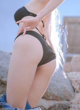 Cosplay Black Swimsuit Azur LaneJambar style002
