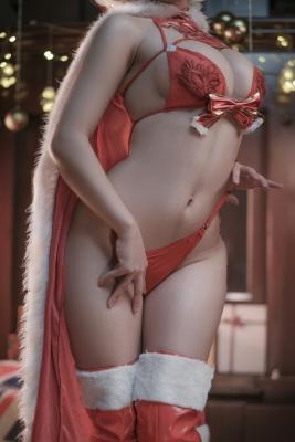 Cosplay Underwear Image 2B Christmas Nia Automata028
