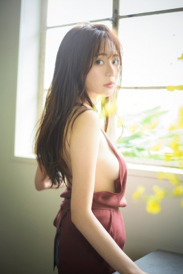 Tani Asako Swimsuit Gravure Gluttonous Female Announcer 2021022
