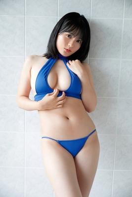 Mizuki Hoshina swimsuit gravure voluptuous body 2020001