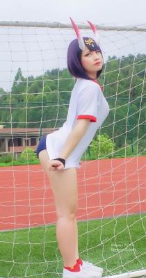 Cosplay Swimsuit Style Costume Shuten Douji FGO Gym Uniform007