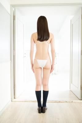 Asami Kondo White Swimsuit Strapless Bikini Bet 2021005
