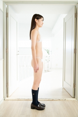 Asami Kondo White Swimsuit Strapless Bikini Bet 2021007