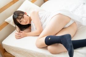 Asami Kondo White Swimsuit Strapless Bikini Bet 2021036