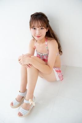 Asami Kondo Swimsuit Gravure Floral Pattern Bikini 2021009