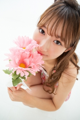 Asami Kondo Swimsuit Gravure Floral Pattern Bikini 2021012