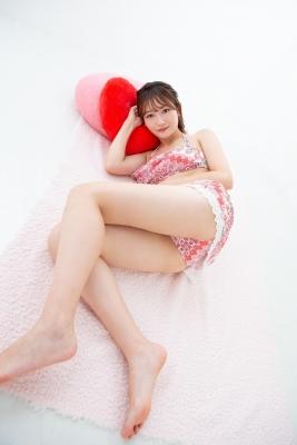 Asami Kondo Swimsuit Gravure Floral Pattern Bikini 2021028