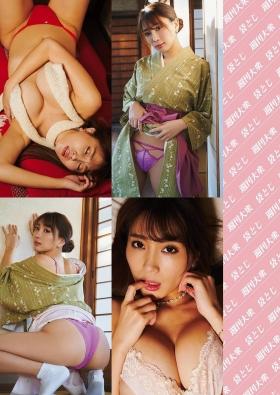 Tomomi Morisaki swimsuit gravure Japans mosterotic body unveiled 2021002