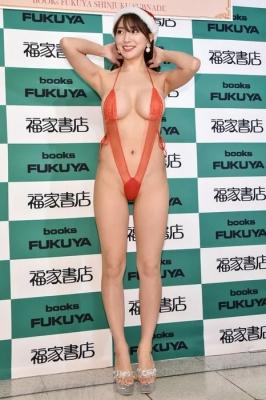 Tomomi Morisaki swimsuit gravure Japans mosterotic body unveiled 2021016