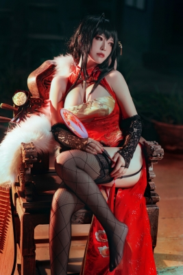 Cosplay SwimsuitStyle Costume Azur Lane Dafeng China Costume9022