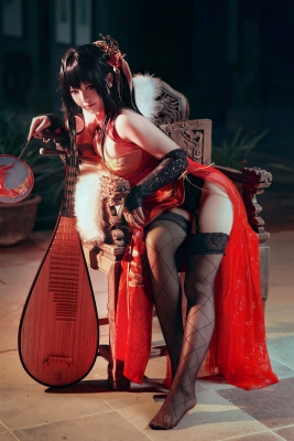 Cosplay SwimsuitStyle Costume Azur Lane Dafeng China Costume9026