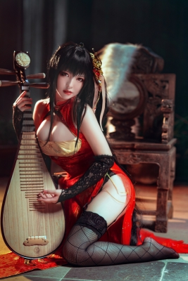 Cosplay SwimsuitStyle Costume Azur Lane Dafeng China Costume9032