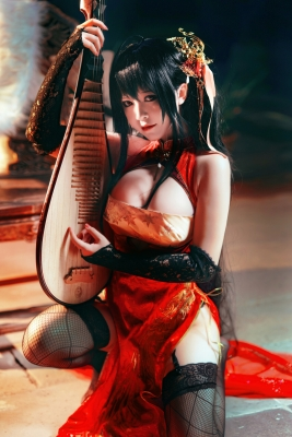 Cosplay SwimsuitStyle Costume Azur Lane Dafeng China Costume9030