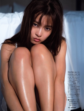 Yume Shinjo Swimsuit Gravure 22 years old on break as Sena Hayami in Kira May Green 2021012