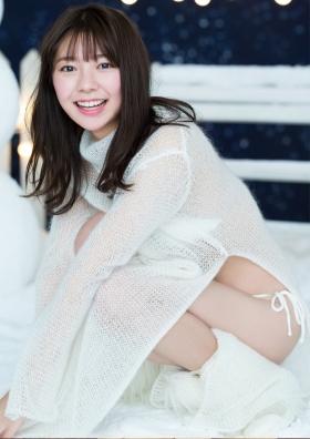 Asuka Kawazu Swimsuit Gravure Winter Fairies 2021004