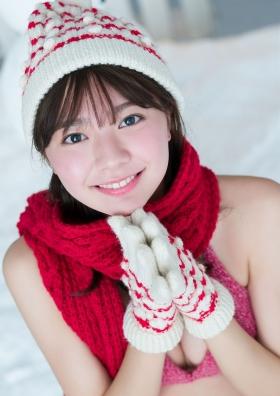 Asuka Kawazu Swimsuit Gravure Winter Fairies 2021009