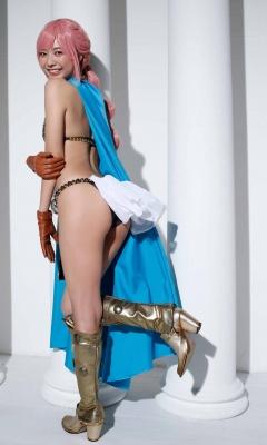 Asuka Kawazu Bikini Armor ONE PIECE RebeccaNefertari Bibi Cosplay 005