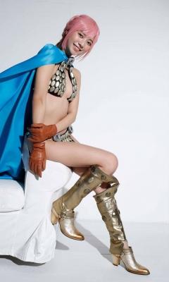 Asuka Kawazu Bikini Armor ONE PIECE RebeccaNefertari Bibi Cosplay 013