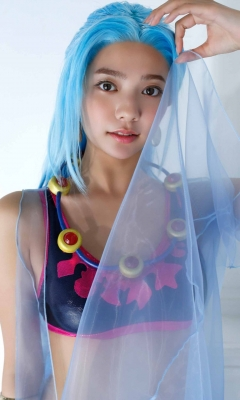Asuka Kawazu Bikini Armor ONE PIECE RebeccaNefertari Bibi Cosplay 017