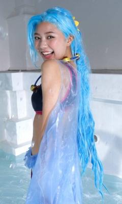 Asuka Kawazu Bikini Armor ONE PIECE RebeccaNefertari Bibi Cosplay 029