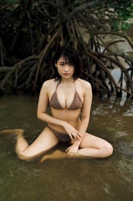 Momoka Ishida swimsuit gravure Encounter the newcharm of the Japanese gravure queen 2021003