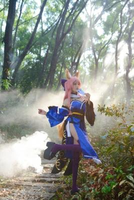 Cosplay Swimsuit Gravure Tamamo no Mae FGOFateGrand Order Koyanskaya017