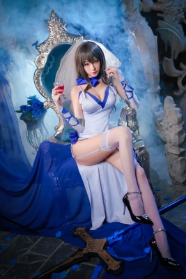 Cosplay Swimsuit Style Costume Azur Lane Saint Louis004