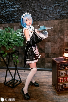 Cosplay Swimsuit Style CostumesRem Rem Life in Another World Starting from Zero Maid Costume r006