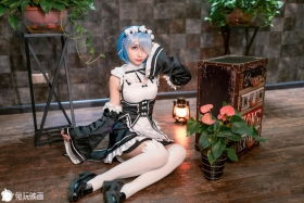 Cosplay Swimsuit Style CostumesRem Rem Life in Another World Starting from Zero Maid Costume r012