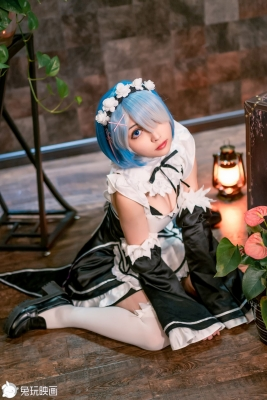 Cosplay Swimsuit Style CostumesRem Rem Life in Another World Starting from Zero Maid Costume r030