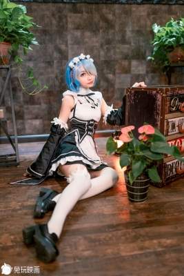 Cosplay Swimsuit Style CostumesRem Rem Life in Another World Starting from Zero Maid Costume r034