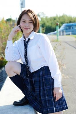 Ayuna Nitta Swimsuit Gravure High school senior in Kumamoto 2021001