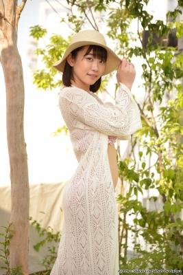 Yura Kano Swimsuit Gravure Jacuzzi Frill Bikini019