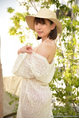 Yura Kano Swimsuit Gravure Jacuzzi Frill Bikini029