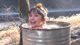 Rio Teramoto swimsuit bikini gravure 19 years oldhot spring in a drum can bath 2021035