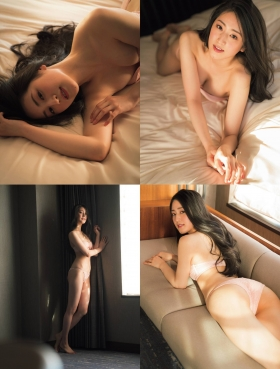 Aoki Kotone Swimsuit Bikini Gravure I took off my kimono for the first time 2021005