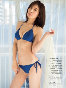 Yohko Kumada swimsuit bikini gravure The legends sex appeal is getting more and more polished 2021002