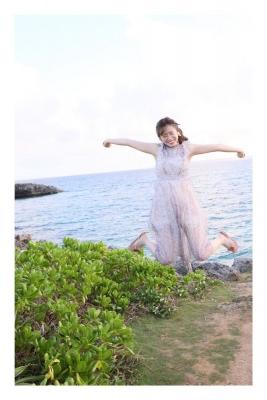 Masashi Iino Swimsuit Bikini Gravure AKB48 15th Student Vol1003