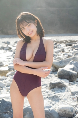 Rio Teramoto swimsuit gravure The lifesized charm of a 19year-old girl Vol2 2021003