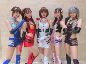 Yuuki swimsuit bikini gravure promising new race queen 2021 2020017