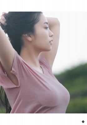 Yuuno Ohara swimsuit bikini gravure Doki Doki to the highest point 2021013