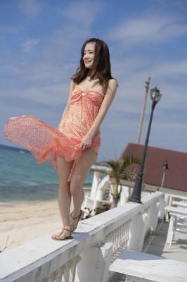 Fukuoka Minami Swimsuit Bikini Gravure Undressable Rikke Beauty 2021014