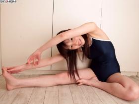 Yurika Gike School swimsuit gravure2020
