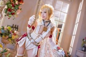 Cosplay Swimsuit Style Costume Nero Claudius Bride FGO Fate Grand Order35006
