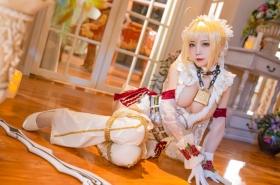 Cosplay Swimsuit Style Costume Nero Claudius Bride FGO Fate Grand Order35014