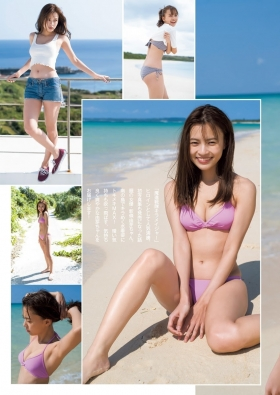 Yume ShinjoIm so excited to see you in a sparkling swimsuit on a southern island006