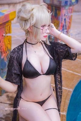 Cosplay Swimsuit Bikini Gravure Wataga Himiko Togahimiko My Hero Academia017