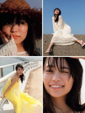 Yuuno Ohara swimsuit bikini gravure 21 years old healthy body 2021003