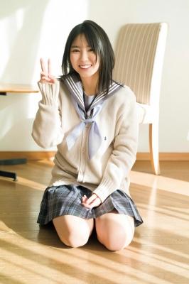 Aika Sawaguchi Swimsuit bikini gravure High school graduation last uniform 2021017